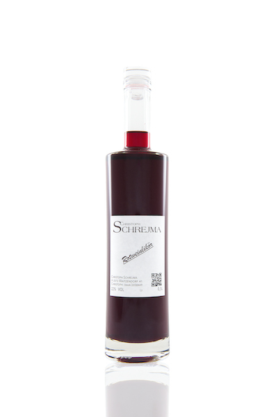 Rotweinlikör von Christoph Schrejma aus dem Weinviertel